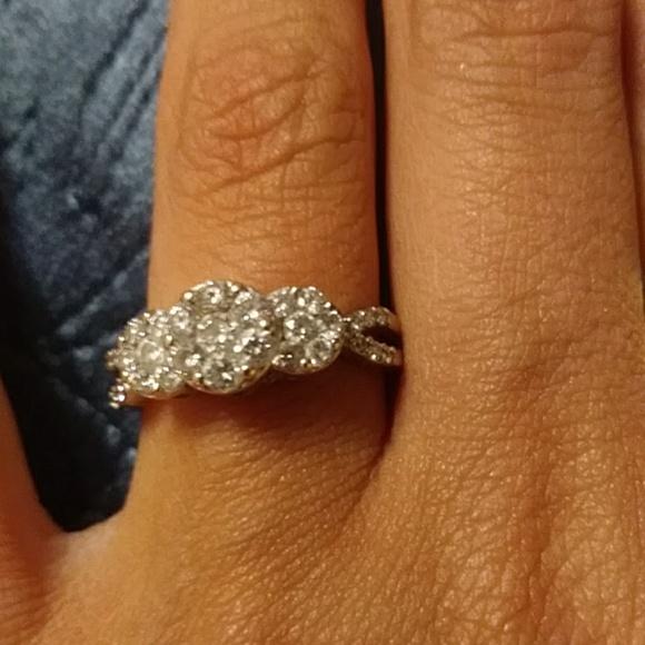 James Avery Jewelry - His Her James Avery Diamond Wedding Ring Silver